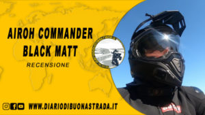 Casco Airoh Commander Black Matt
